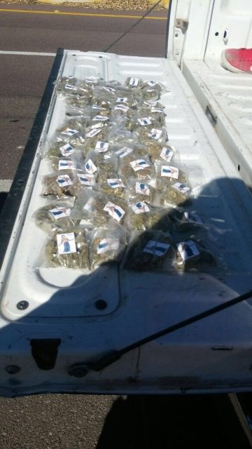 ¡Policías estatales detuvieron en Jerez, Zacatecas, a un joven con 48 dosis de marihuana!