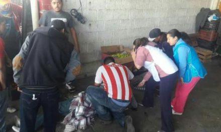 GALERIA/EJECUTARON A UN HOMBRE EN LA CENTRAL DE ABASTOS DE FRESNILLO