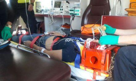 ¡16 lesionados tras doble accidente en la 45 Sur en Aguascalientes!