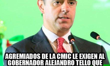 ¡Luego del secuestro del Ing. Robles, agremiados de la CMIC le piden la renuncia a Alejandro Tello!