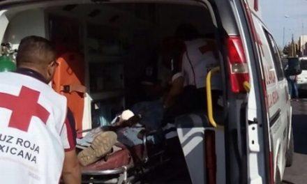 ¡Molino de rastrojo le amputó la mano derecha a un adolescente en Aguascalientes!
