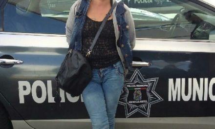 """¡La Policía Municipal de Aguascalientes detuvo a la mujer """"asalta-viejitos""""!"""