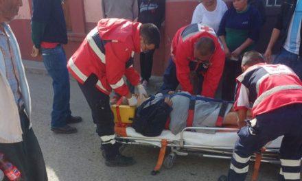 ¡Mujer de la tercera edad lesionada atropellada por una camioneta en Lagos de Moreno!