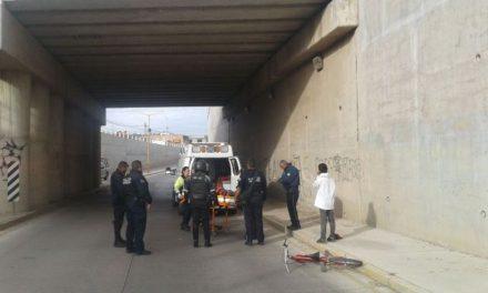¡Un hombre intentó suicidarse y se arrojó de un puente en Aguascalientes!