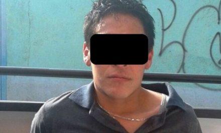 """¡Detuvieron al narcotraficante """"El Chilango"""" con 2 kilos de marihuana en Aguascalientes!"""