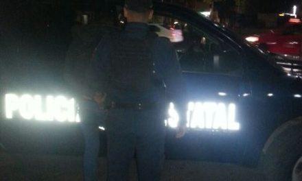 ¡Policías estatales detuvieron a delincuente que asaltó una tienda con una pistola de plástico en Aguascalientes!