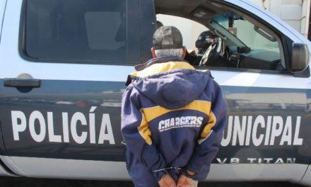 ¡Sujeto fue detenido por policías municipales por homicidio en riña en Aguascalientes!
