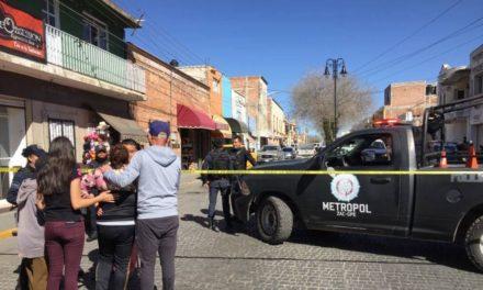 ¡Joven fue ejecutado dentro de un taller mecánico en el Centro de Guadalupe!