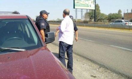 ¡Policías estatales frustraron una extorsión telefónica a unos turistas en Aguascalientes!