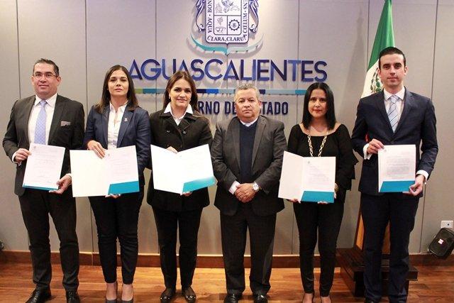 ¡Nombramientos en la SEGGOB fortalecen el trabajo de la administración pública!