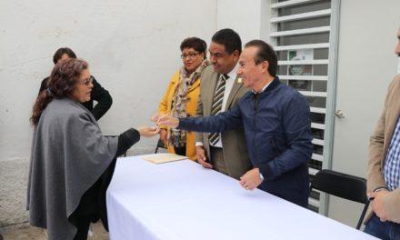 ¡Entrega ISSEA nueva infraestructura en salud en Cosío!