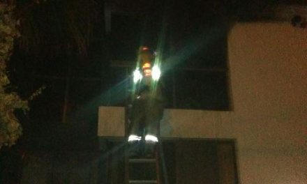 ¡Se incendió una residencia en Aguascalientes!
