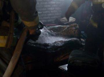 ¡Corto circuito provocó un incendio en una casa en Aguascalientes!