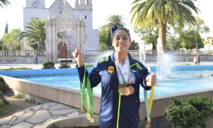 ¡Nadadora jesusmariense, seleccionada nacional en campeonato mundial!