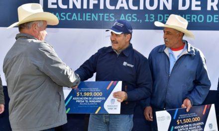 ¡Entrega el gobernador 16.5 mdp en apoyos para tecnificación de riego agrícola!