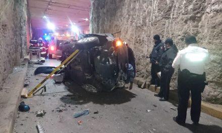 ¡2 muertos y 1 lesionada grave tras espantoso accidente en Aguascalientes!