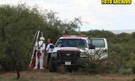 ¡Encontraron el cuerpo de un hombre en una noria en Aguascalientes!
