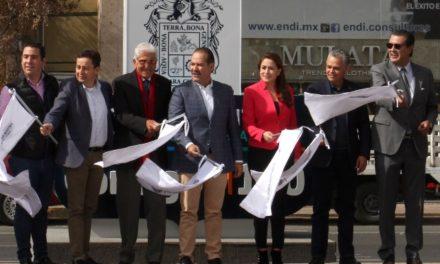 ¡Alcaldesa respalda obras de infraestructura en beneficio de Aguascalientes!