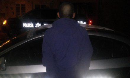 Robacoches detenido por la Policía Municipal de Aguascalientes