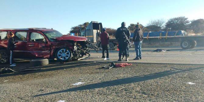 ¡Espantoso accidente en Guadalupe, Zacatecas, dejó 1 muerta y 3 lesionados originarios de Aguascalientes!