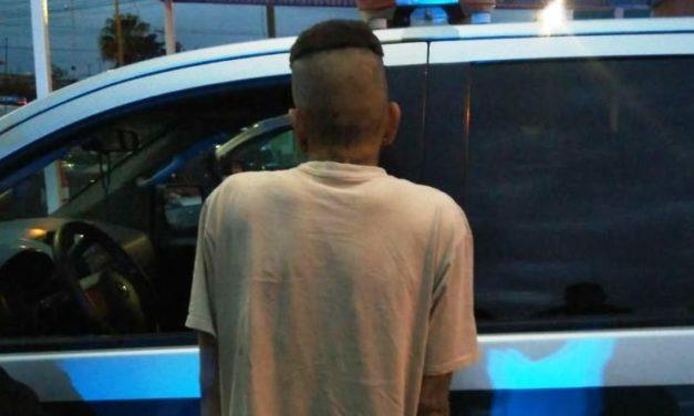 Por robo con violencia fue detenido por la Policía Municipal de Ags.