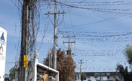 ¡Pésimas instalaciones de luz en la Central de Abastos: PVEM!
