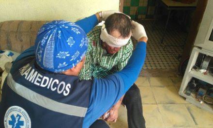 ¡Policías municipales rescataron a un hombre privado de su libertad y torturado en Aguascalientes!
