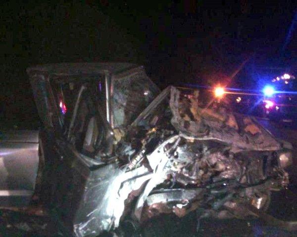 ¡Choque frontal entre 2 camionetas en Guadalupe, Zacatecas, dejó 1 muerto y 9 lesionados!