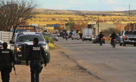 ¡Detuvieron a 3 sujetos que atacaron a balazos a policías municipales en Guadalupe!