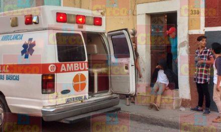 ¡Menor de edad lesionado tras ser arrollado por un motociclista en Lagos de Moreno!