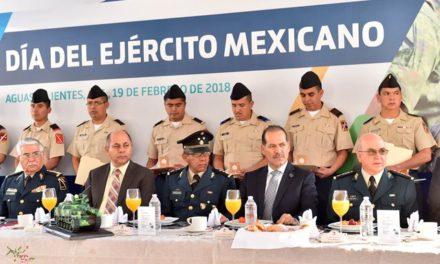 ¡Gobierno del Estado y Ejército Mexicano trabajan juntos por la seguridad en Aguascalientes!