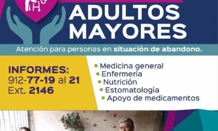 ¡Otorga atención médica DIF Municipal a adultos mayores en situación de abandono!