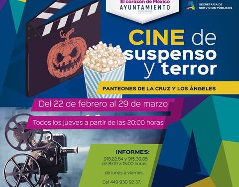 ¡Panteones de la capital se convertirán en salas de cine de suspenso y terror!