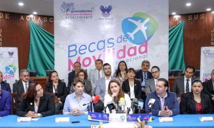 ¡400 jóvenes de Aguascalientes podrán viajar al extranjero: Tere Jiménez!