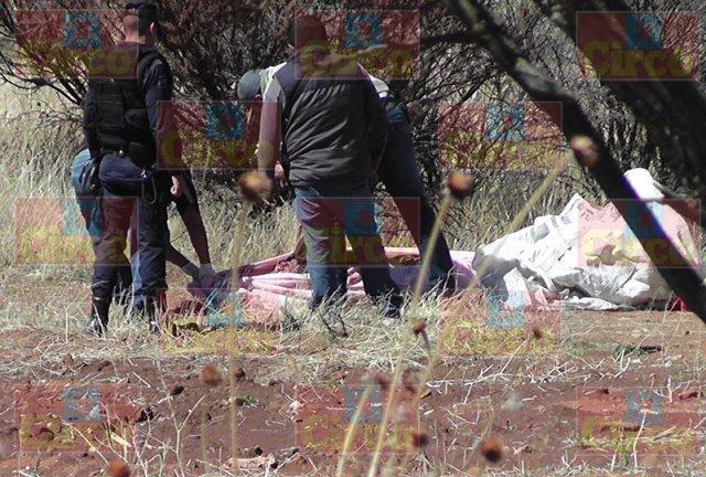 ¡Hallaron a 2 hombres torturados y ejecutados en Fresnillo!
