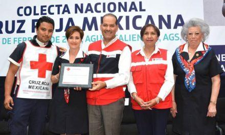 ¡Arranca gobernador la colecta nacional de la Cruz Roja Mexicana 2018!