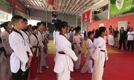 ¡Aguascalientes recibe a selectivo de Taekwondo de Durango para práctica de fogueo!