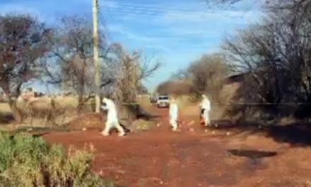 ¡Ejecutaron a un ex convicto en Fresnillo con armas de fuego larga y corta!