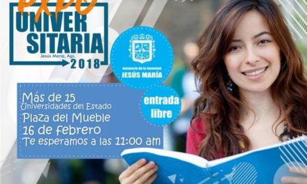 ¡Habrá Expo Universitaria en Jesús María!