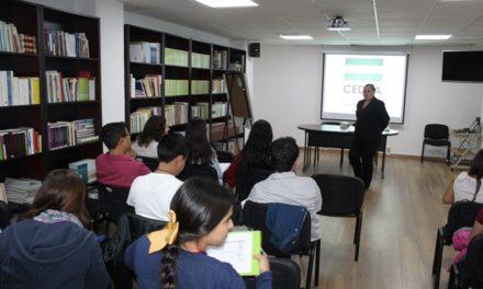 ¡Capacita CEDHA a alumnas de la Escuela Normal de Aguascalientes!
