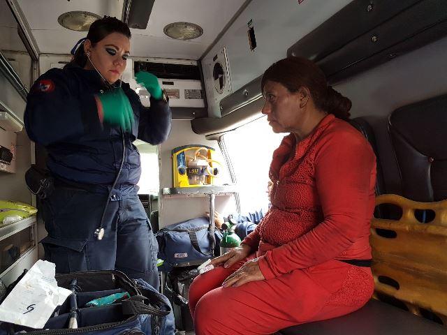 ¡Una mujer resultó intoxicada tras incendiarse su casa en Aguascalientes!