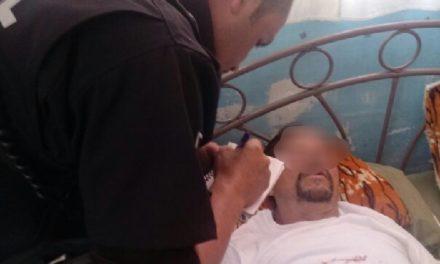 ¡Hombre intentó suicidarse cortándose las venas por problemas con su esposa en Aguascalientes!