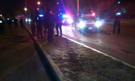 ¡Grave hombre alcoholizado que fue atropellado por una patrulla de la Policía Preventiva de Aguascalientes!