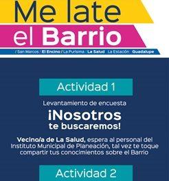 ¡Ayuntamiento de Aguascalientes hará consulta ciudadana en Barrio Mágico de La Salud!