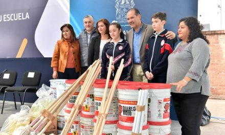 ¡Entrega el gobernador apoyos para mejorar la infraestructura en la escuela Margarita Maza de Juárez!