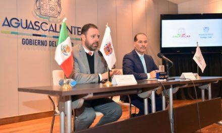 ¡Acuerda gobernador mayor coordinación con su homólogo de Zacatecas!
