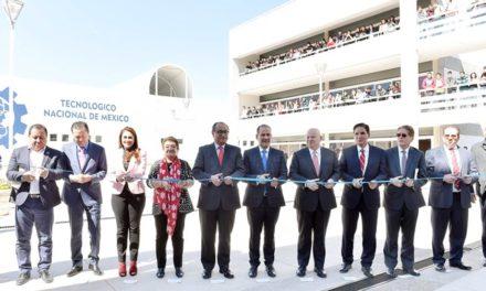 ¡Inauguran MOS y OGR Foro e Infraestructura Educativa en el ITA!