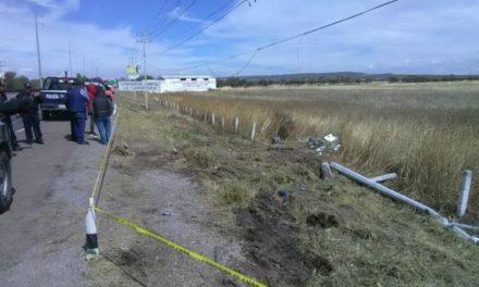 ¡Velador murió atropellado por un tráiler en la 45 Sur en Aguascalientes!