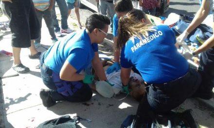 ¡Padre murió y su hijo resultó lesionado tras fuerte accidente en Aguascalientes!