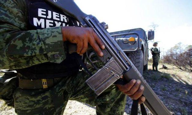 ¡Personal militar aseguró 2 toneladas de marihuana en Concepción del Oro, Zacatecas!